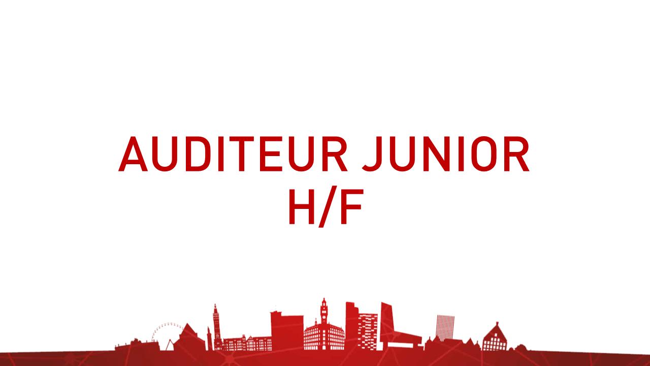 Auditeur junior