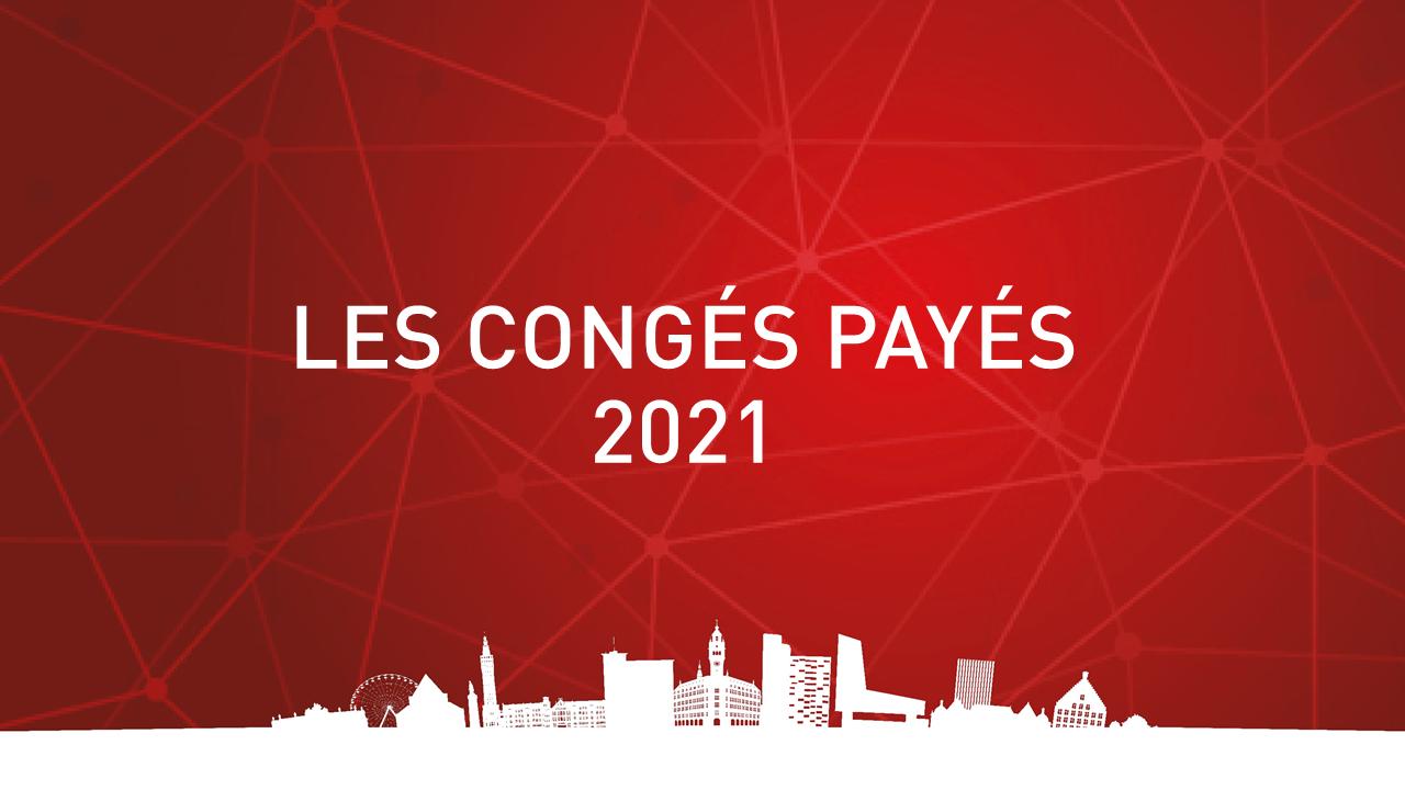 congés payés 2021